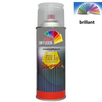 PEINTURE BRILLANT DIRECT  A LA TEINTE EN AEROSOL 400ML
