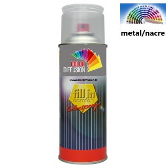 PEINTURE  METAL / NACRE AUTOMOBILE EN AEROSOL 400 ML