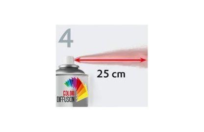 APPRET ACRYLIQUE GARNISSANT GRIS EN AEROSOL 500 ML
