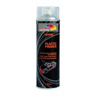 AEROSOL 500 ML DE PRIMAIRE PLASTIQUE INCOLORE NOVOL