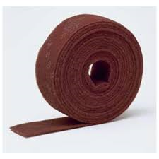 ROULEAU SCOTCH BRITE MATTFLEX ROUGE 115MM X 10M