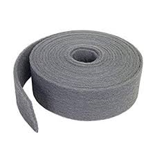 ROULEAU SCOTCH-BRITE GRIS 115MM X 10M ULTRA FIN
