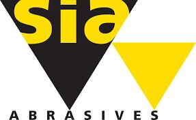 logo SIA abrasifs. color diffusion sarl