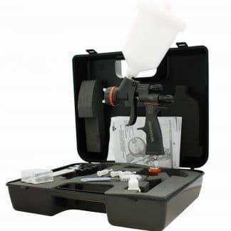 WALCOM Pistolet GENESI CARBONIO 360 HTE CLEAR 1.3 (valise plastique)