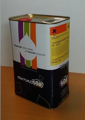 Bidon de 5L de durcisseur pour peinture industrielles SOB Peinture