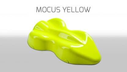 Peinture à effets mocus yellow