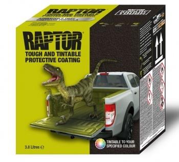 Kit Raptor Liner noir ou blanc 4 bouteilles